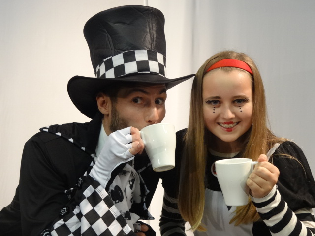 Alice & Mad Hatter Backstage 2012