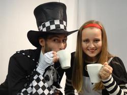 Alice & Mad Hatter Backstage 2012