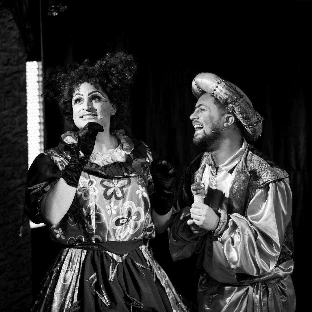 Aladdin - Auntie & Iago