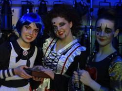 Backstage Millfield Theatre 2012