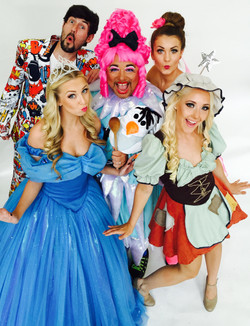 Panto Characters for Cinderella Pnto