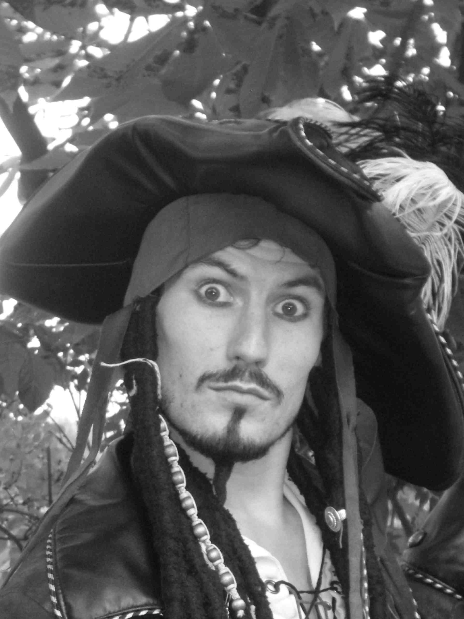 TONY PALMER AS JACK SPARROW 2011