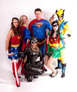 Superheros Party