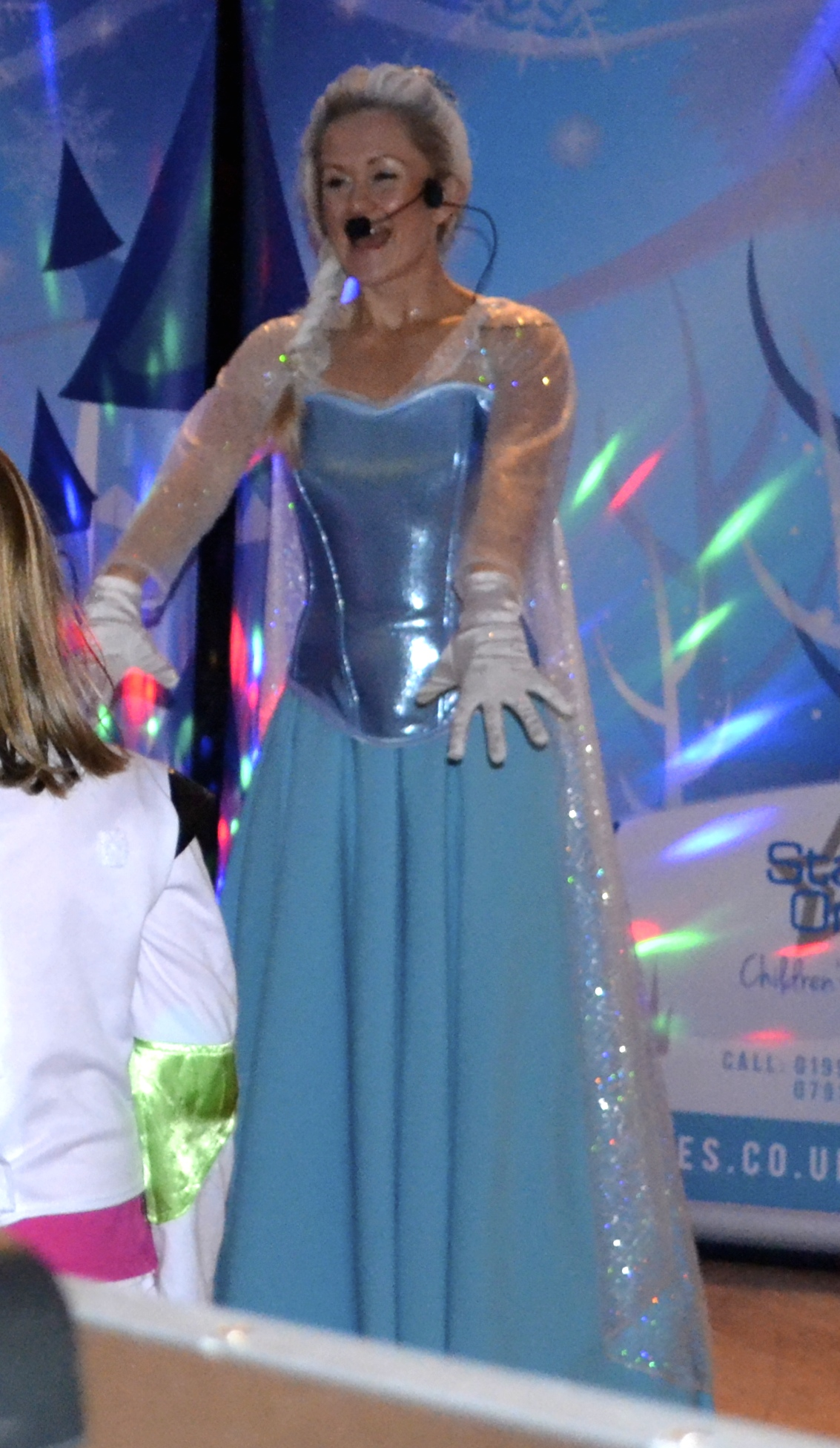 Elsa dancing at the Ball