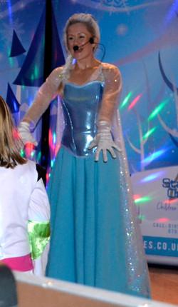 Elsa dancing at the Ball