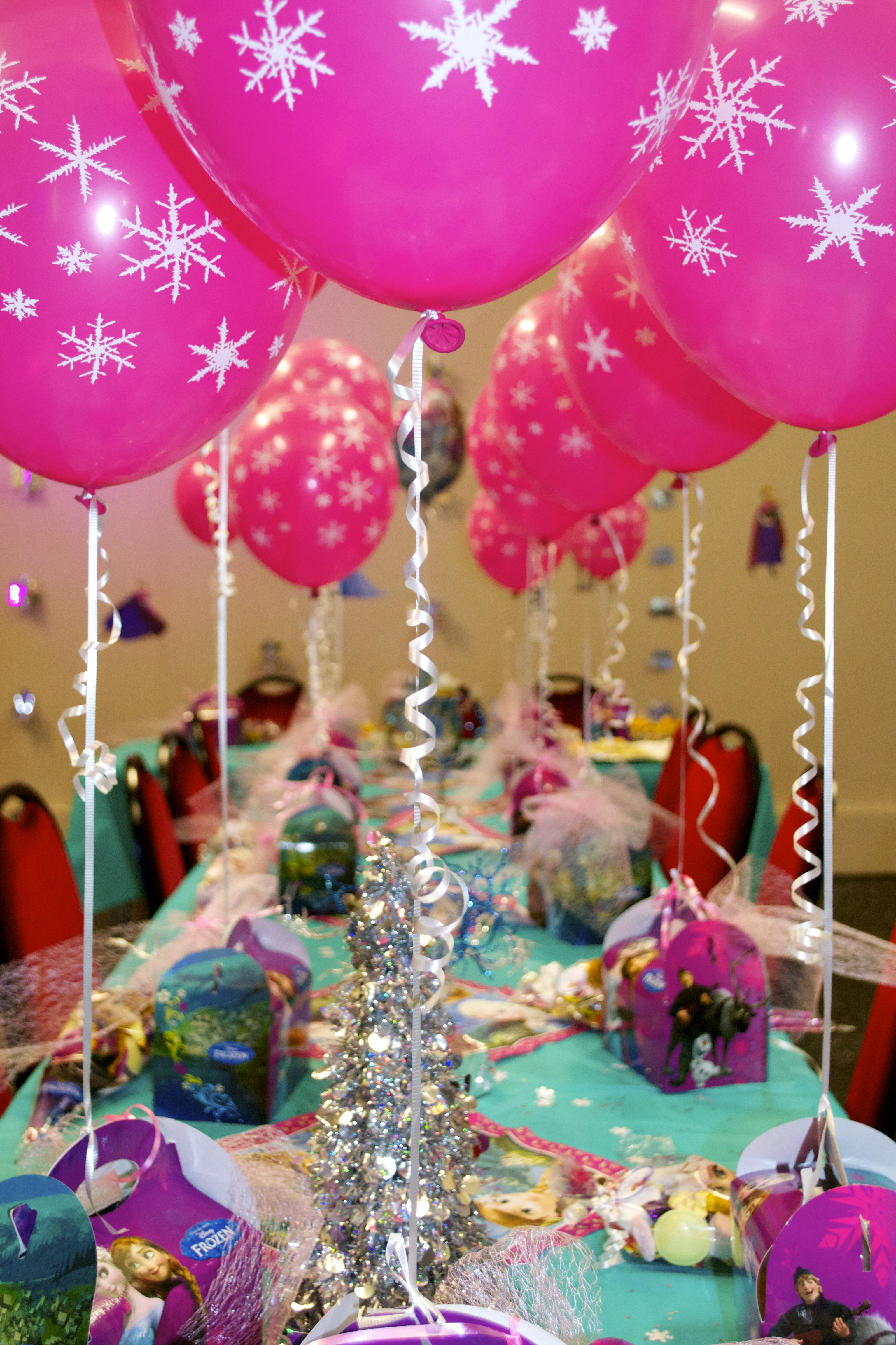 Stage One Party Table