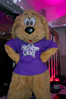 The Stage One dancing Dog. How cute!