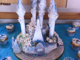 Birthday cake splendour