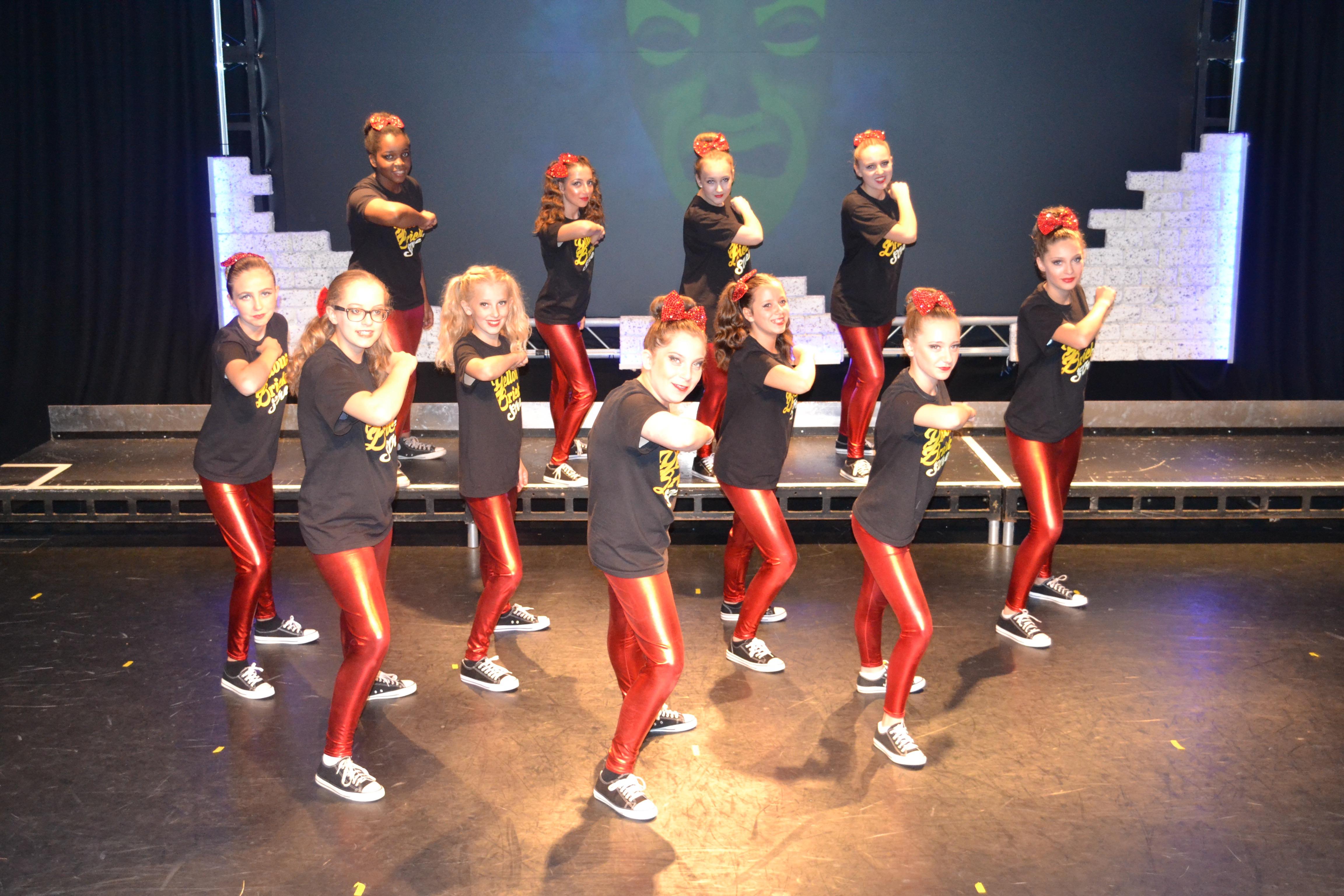 Dancers at Yellow Brick Street