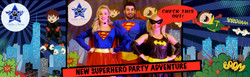 Stage One Superhero Party