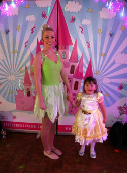 Tinkerbelle with The Birthday Girl
