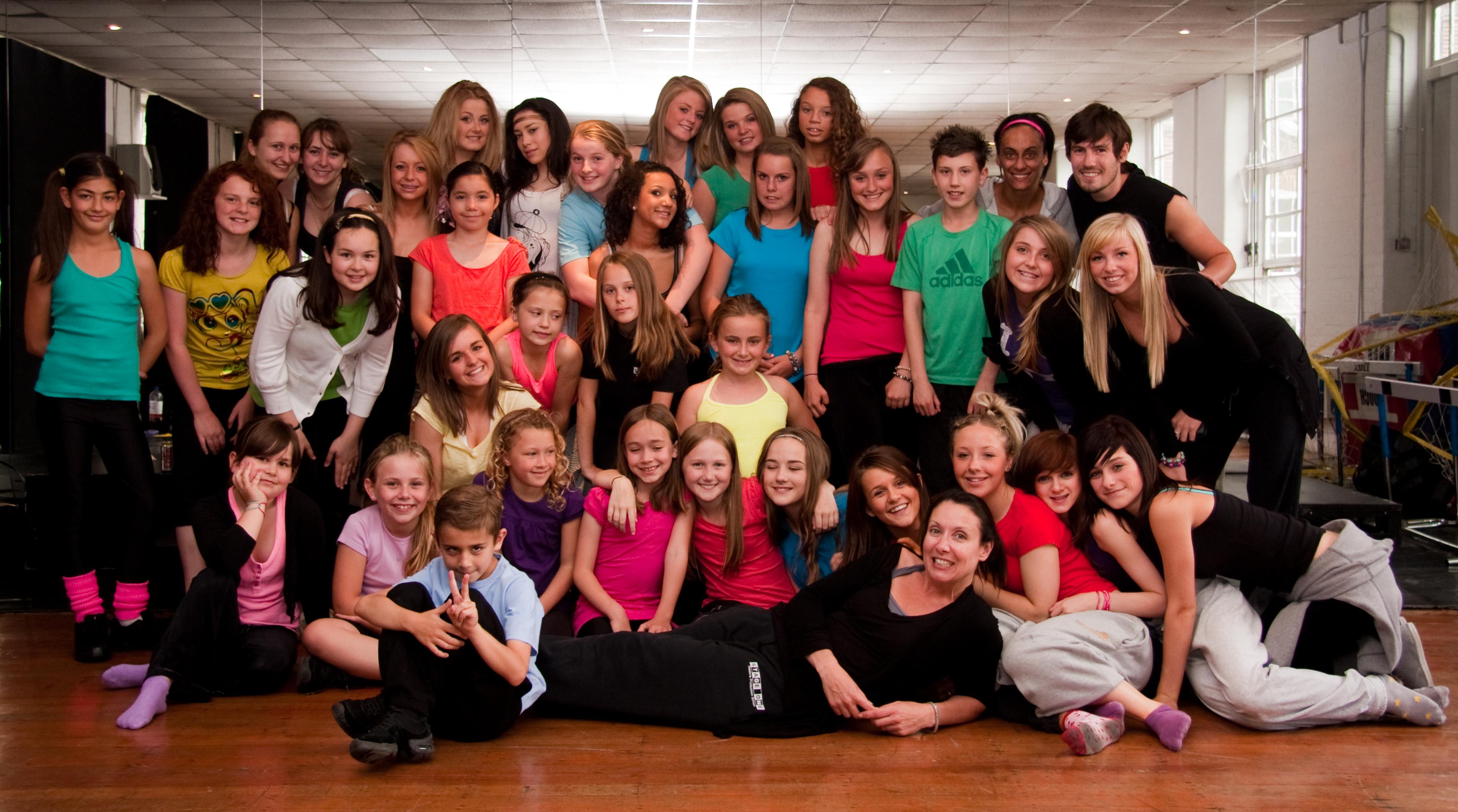Club Kids Rehearsals 2010