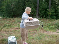 Volunteer Linda Hale