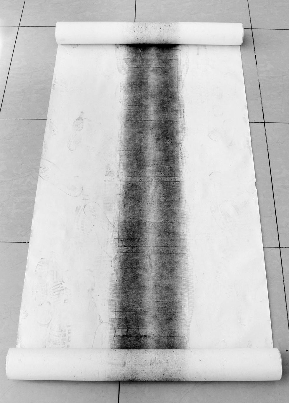 Vista rollo de papel