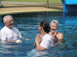 EC Water baptism