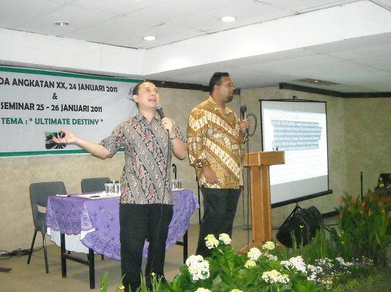 PREACHING IN JAKARTA