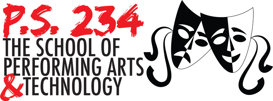 PS 234Q the school of performing arts and technology logo