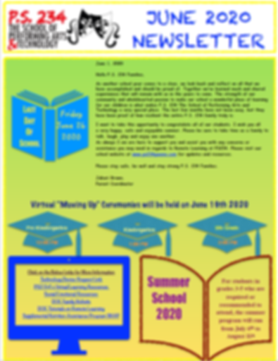 June 2020 Newsletter from ParentCoordina