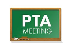 parent teacher association meeting date announcement