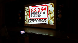 Sign for the parent teacher association