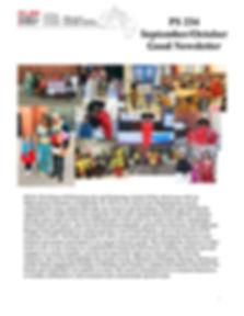 PS 234Q September_October Good Newslette