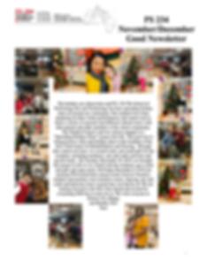 PS 234Q NovemberDecember Good Newsletter