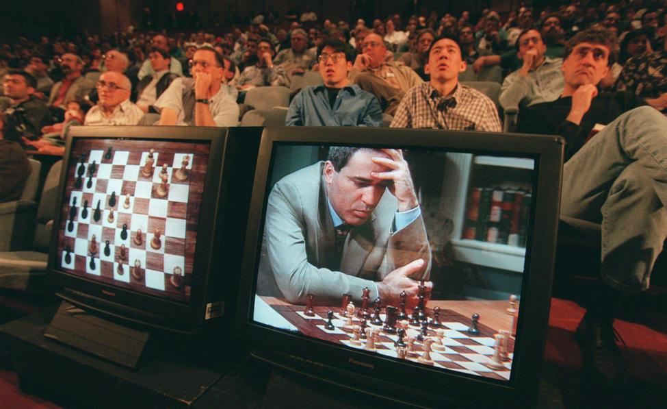 VINFactor Kasparov IBM Deep Blue