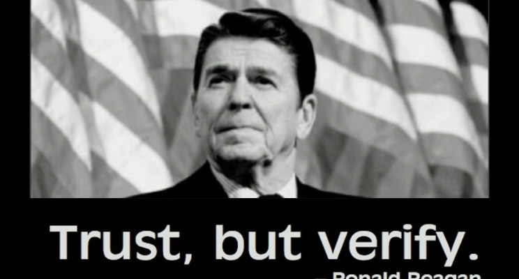 VINFactor Reagan Trust But Verify