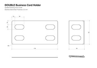 card case design draft
