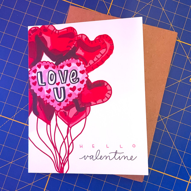 Shop Valentine's Card
