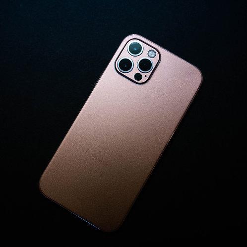 iPhone 12 Pro Rose Gold Vinyl Skin