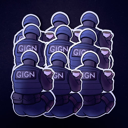 Counter Strike GIGN Sticker