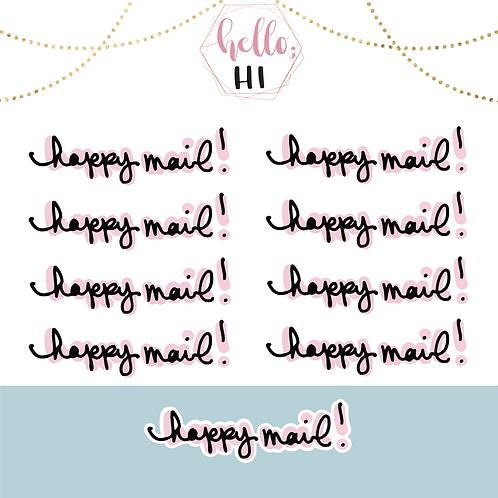 happy mail! sticker sheet
