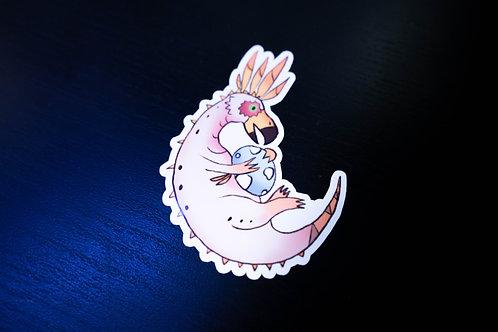 Monster Hunter Crayon Kulu Ya-Ku Sticker