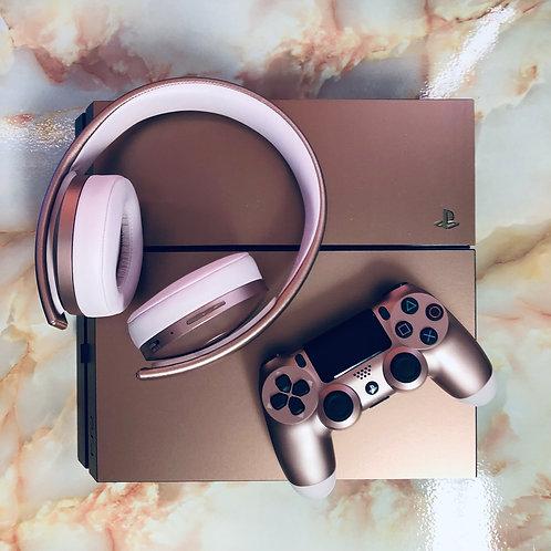 PlayStation 4 Rose Gold Vinyl Skin