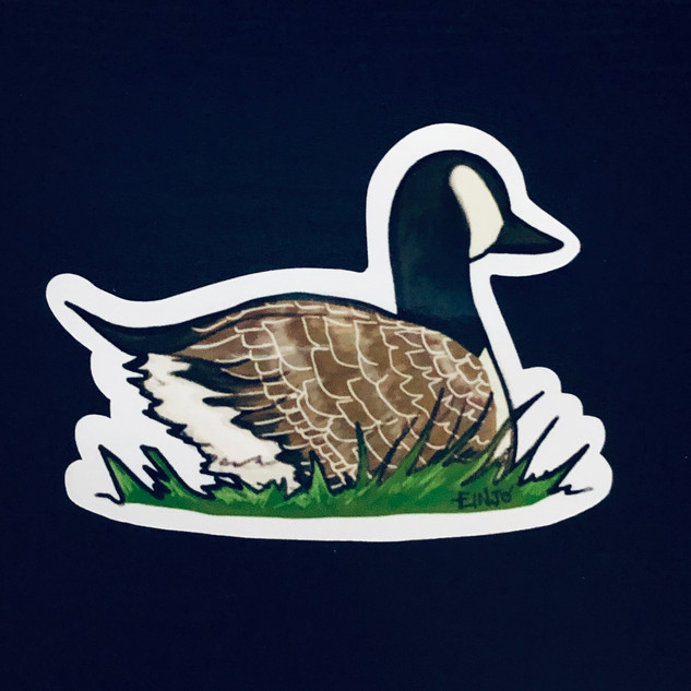 canadian goose sticker