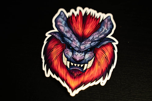 Monster Hunter Teostra Sticker