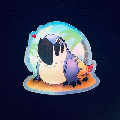 Monster Hunter Dodogama Paradise Sticker