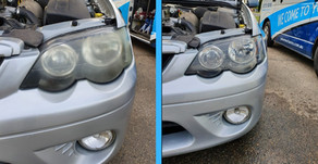 HEAD LIGHT RESTORATION OR REPLACEMENT- YOU BE THE JUDGE