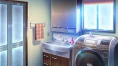 Caspian Laundry Room