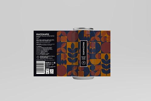 Wylam - Macchiato - Hazelnut Praline Coffee Porter - 6.5% ABV