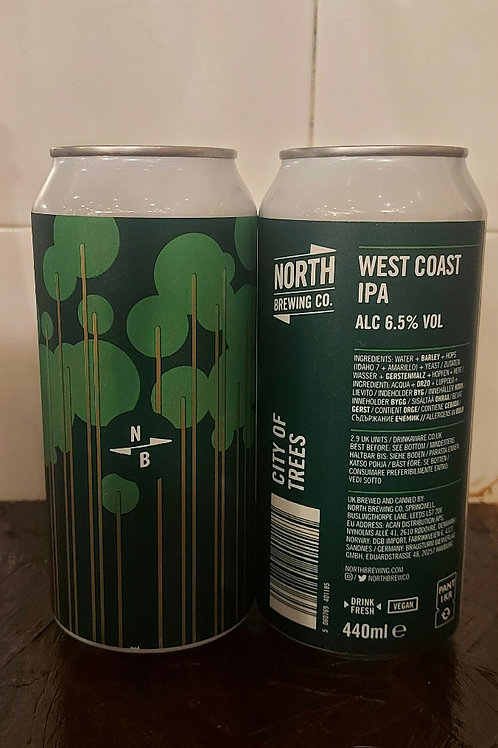 North Brewing Co. - City of trees West Coast IPA