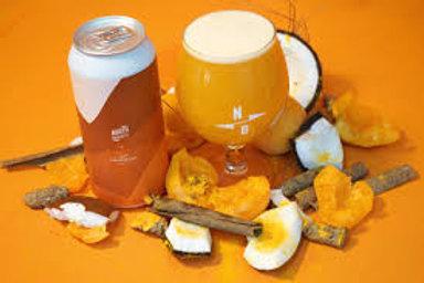 North Brewing Co. - North X Fieldwork - Apricot + Coconut + Tumeric Sour 6% ABV