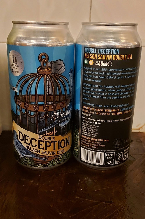 Abbeydale Brewery Double Deception Nelson Sauvin DIPA