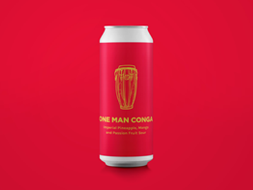 Pomona Island - One Man Conga - Imperial Pineapple, Mango and Passion Fruit Sour