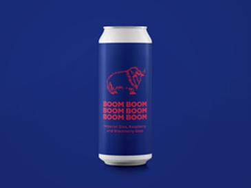 Pomona Island - Boom - Imperial Sloe, Raspberry and Blackberry Gose -10% ABV