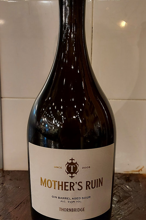 Thornbridge  - Mothers Ruin Gin Barrel aged sour with Elderflower & Orange bloss