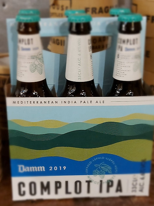 Damm  - Complot IPA - 6 pack offer