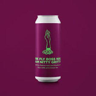 Tank Fly Boss Walk Jam Nitty Gritty - Berry Sour DIPA by Pomona Island