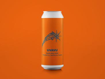 Pomona Island - Uvavu - Black Sour Raspberry, Vanilla & Cacao DIPA - 8% ABV